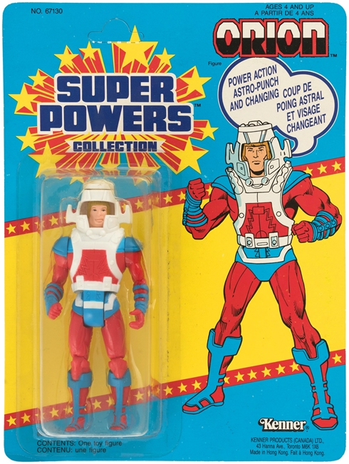 1 Kenner Canadian Super Powers Orion 33 Back Card Front