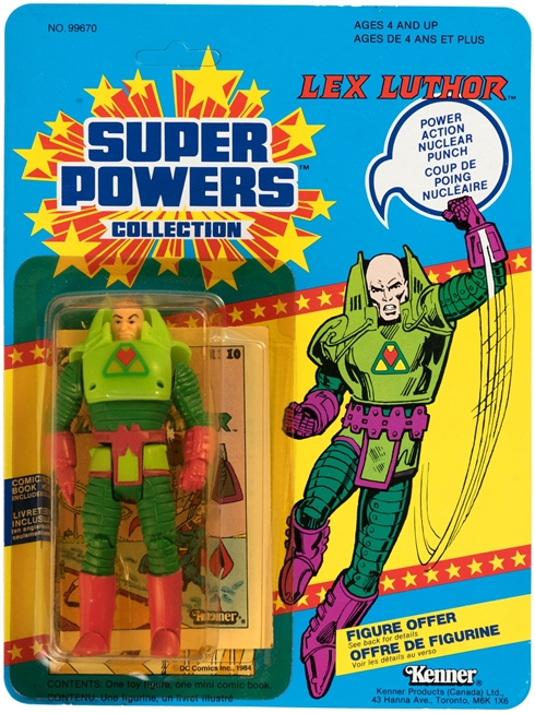 1 Super Powers Lex Luthor Canada 12 back front
